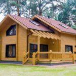 Клееный брус — современный материал для экологичного дома