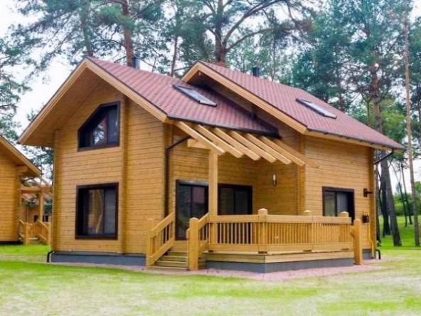 клееный брус - современный материал для экологичного дома