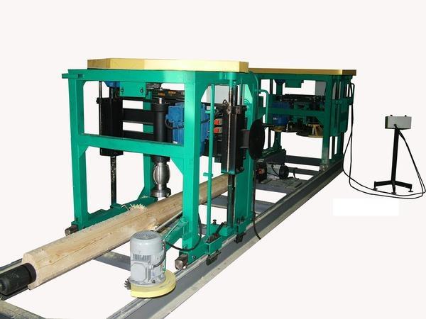 деревообрабатывающее оборудование: оцилиндровочный станок ос1-500