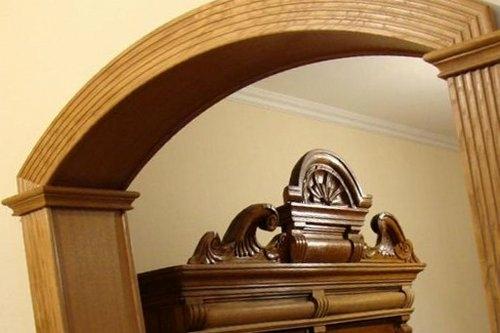 Як зробити і встановити дверну арку своїми руками
